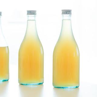 Lemongrass Ginger Syrup.