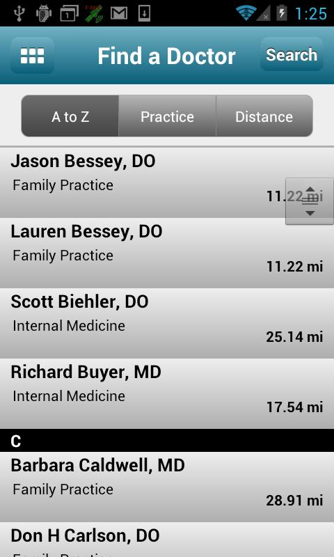 Carondelet Health Network - screenshot