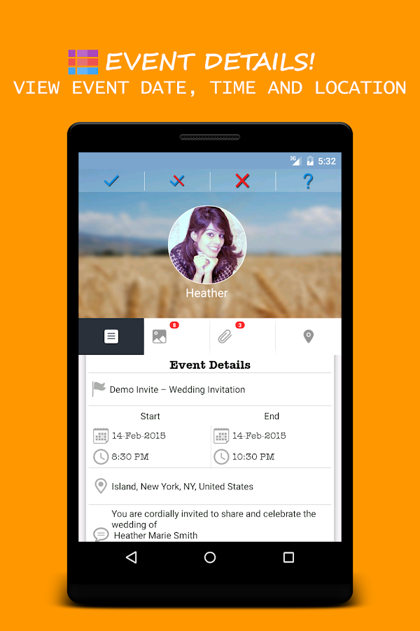 Invitation Maker City Events Android Apps On Google Play