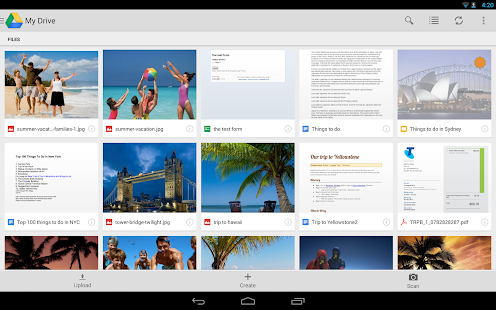 Google Drive - screenshot thumbnail
