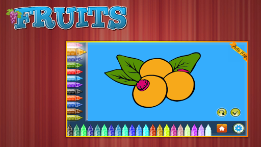 Coloring Book Fruits 1.5.0 screenshots 10