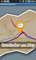 Screenshot of Reminder with Map
