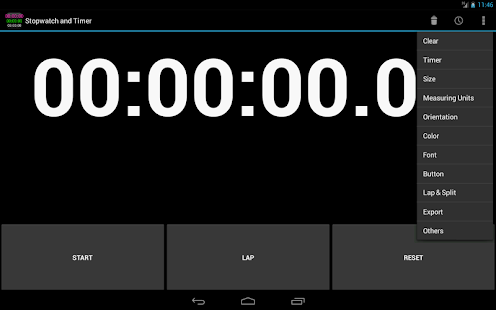 Custom Stopwatch & Timer free - screenshot thumbnail