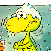 Dopey Dinosaur Winter Holiday