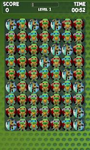 Turtles Match 3 Game