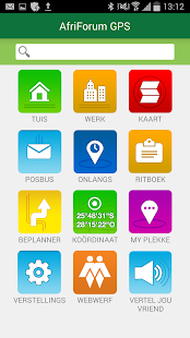 AfriForum GPS screenshot