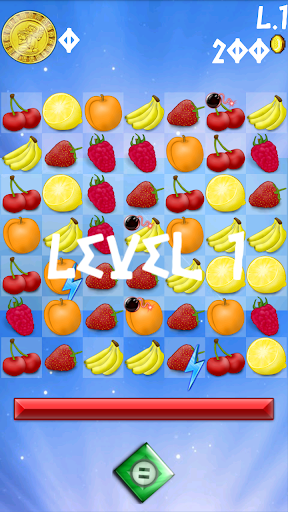 【免費休閒App】Fruit Crush Saga-APP點子
