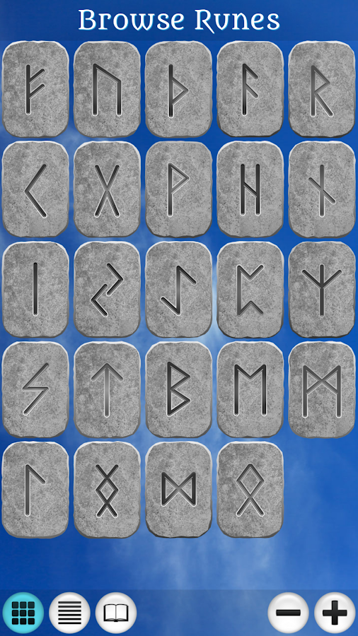 Galaxy Runes - screenshot