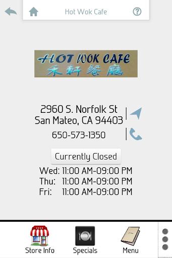 Hot Wok Cafe