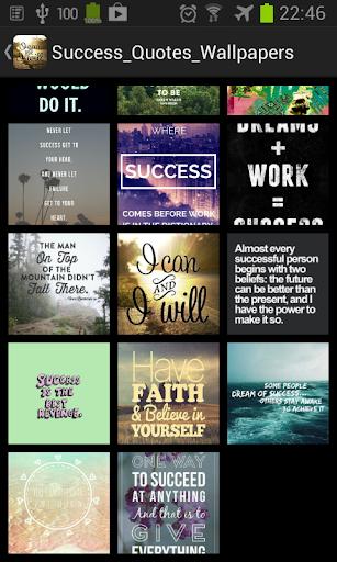 Success Quote Wallpaper