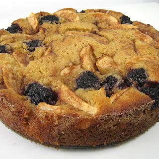Apple-Blackberry Cake