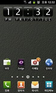 Digital Clock Widget StoneEx - screenshot thumbnail
