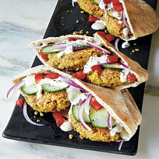 Mini Falafel Pocket Sandwiches