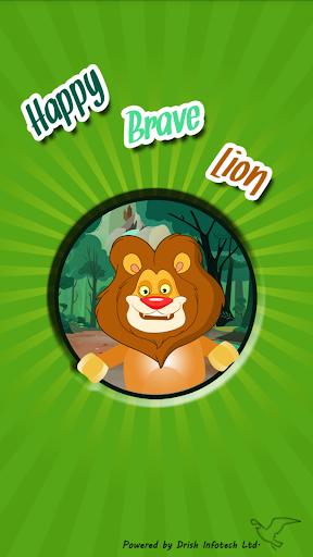 Happy Brave Lion