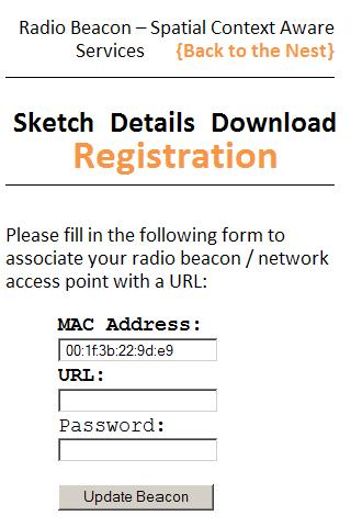 RadioBeacon- screenshot