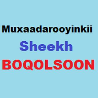 Sheekh Boqolsoon