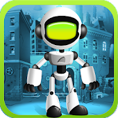 Robo Atom jumpy addicting game