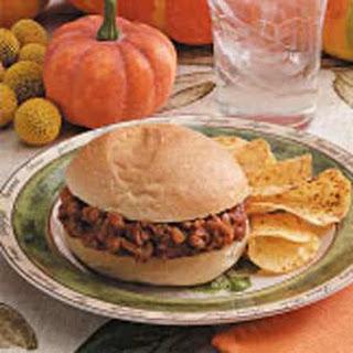 Pumpkin Burgers.