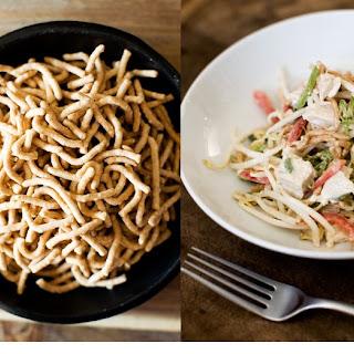 Chicken Chow Mein Salad.