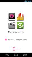 Screenshot of Mediencenter - Telekom Cloud