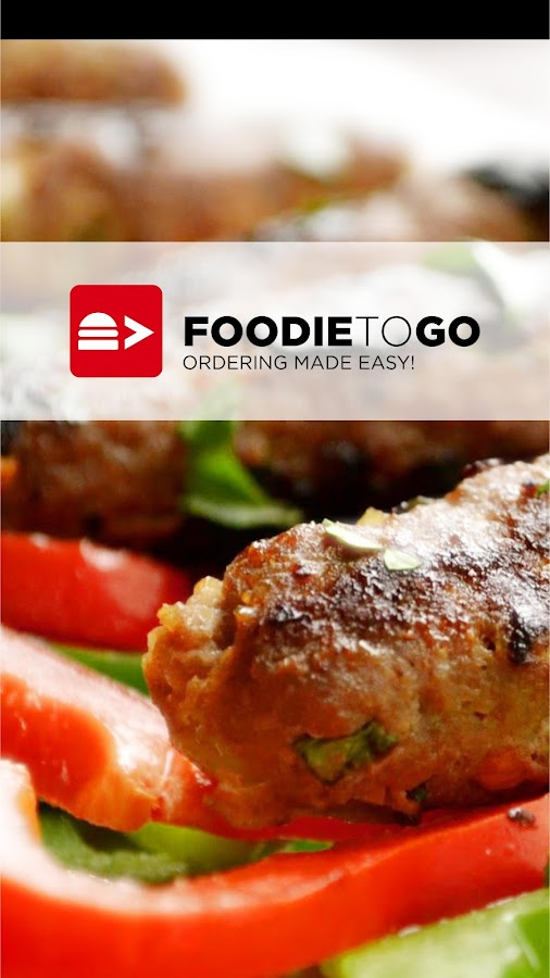 FoodieToGo -Ordering made easy - screenshot