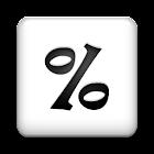 Percent Calculator + (AdFree) icon