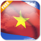 3D Vietnam Flag Live Wallpaper icon