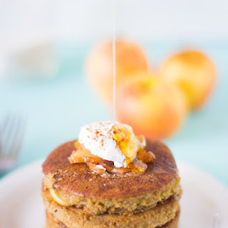Flourless Apple Pie Pancakes