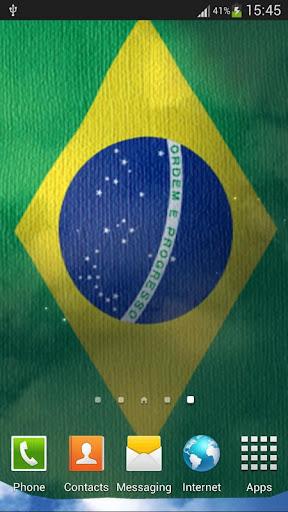 巴西國旗動態桌布