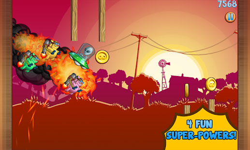 Jetpack Piggies Bros - screenshot thumbnail