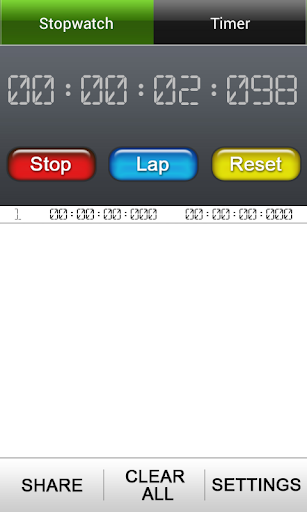 Lap Timer + StopWatch