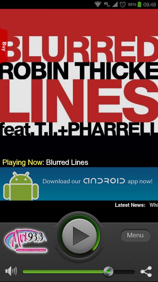 Mix 93.3 - screenshot