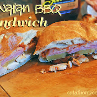 Hawaiian BBQ Sandwiches (inspired by Earl of Sandwich).