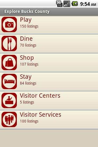 Visit Bucks County - screenshot