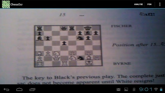ChessOcr OCR Chess Diagrams - screenshot thumbnail