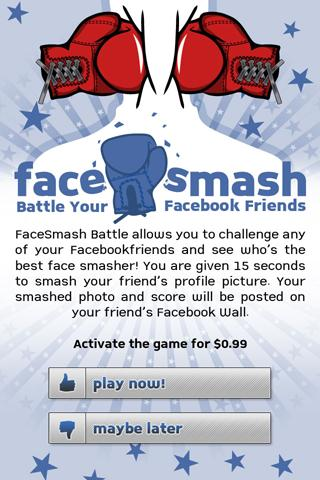 FaceSmash - screenshot