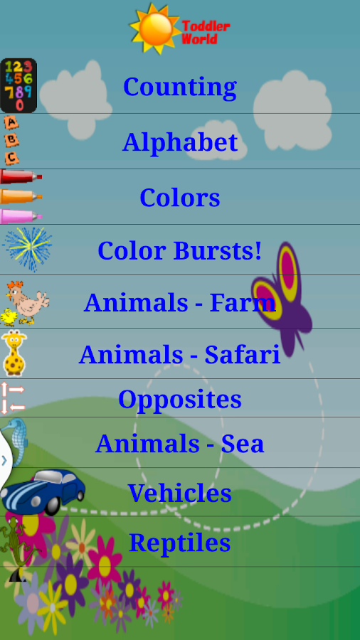 Toddler World Learn English- screenshot