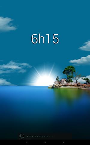 android Glimmer (luminous alarm clock) Screenshot 8