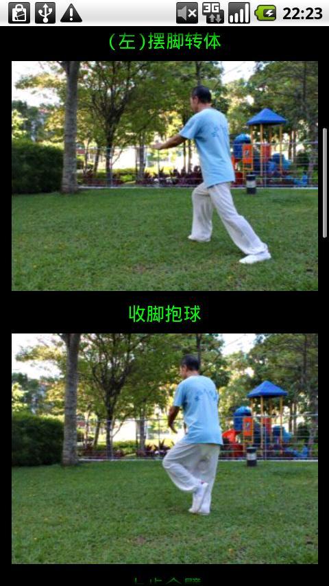 Yang TaiChi40-3杨氏四十式太极拳3- screenshot