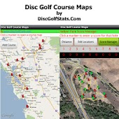 Disc Golf Course Maps