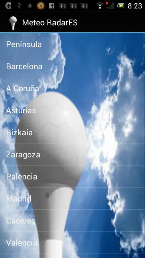 Meteo Radar-ES- screenshot