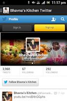 Screenshot of Bhavna's Kitchen