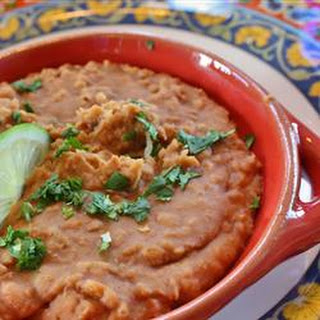Quick and Easy Refried Beans