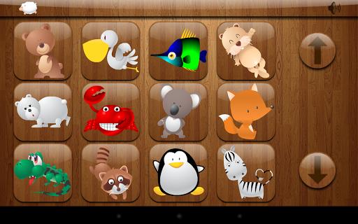 Kids Shape Puzzle - Animals