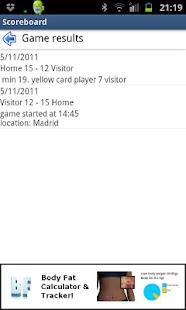 Scoreboard & Timer- screenshot thumbnail