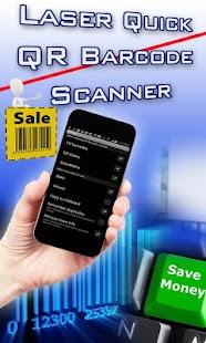 QR Barcode Reader Laser Quick- screenshot thumbnail