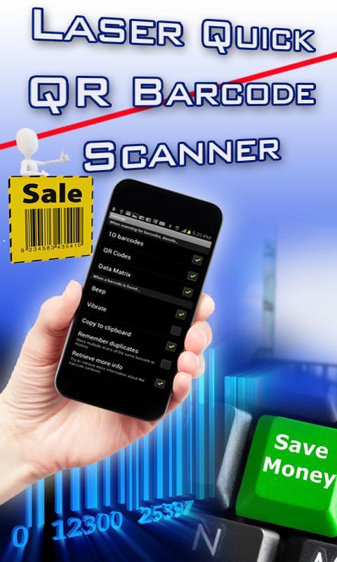 QR Barcode Reader Laser Quick- screenshot