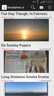 Broadsheet.ie- screenshot thumbnail