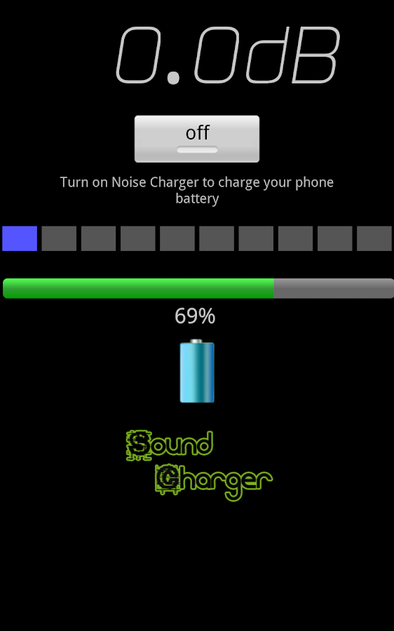 Sound Phone Charger prank - screenshot