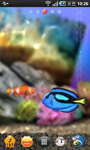 [Shake] 水族館の壁紙(ライブテーマ) - Lite